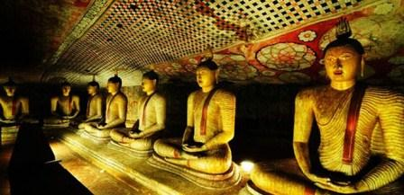 Dambulla Rock Temple Cave Of Great Kings