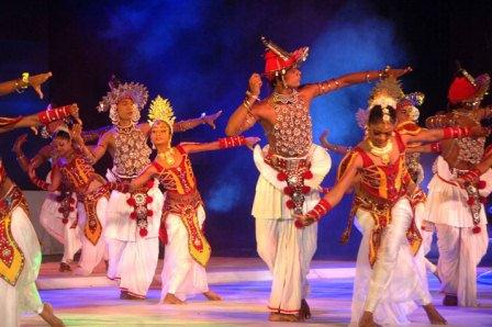 Kandy Cultural Show on Stage
