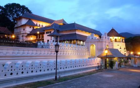 Kandy Temple Evening