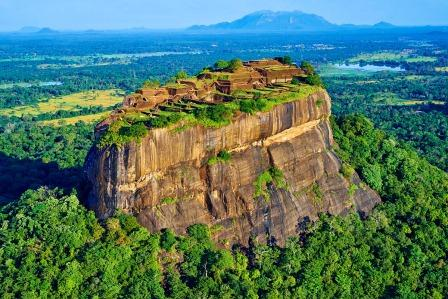Sigiriya Rock Side