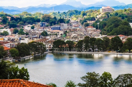 Kandy Town View