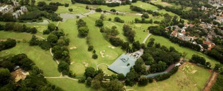 Royal Colombo Golf Arial View